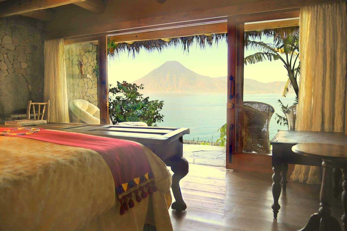 The Monja Blanca Suite - Laguna Lodge Guatemala
