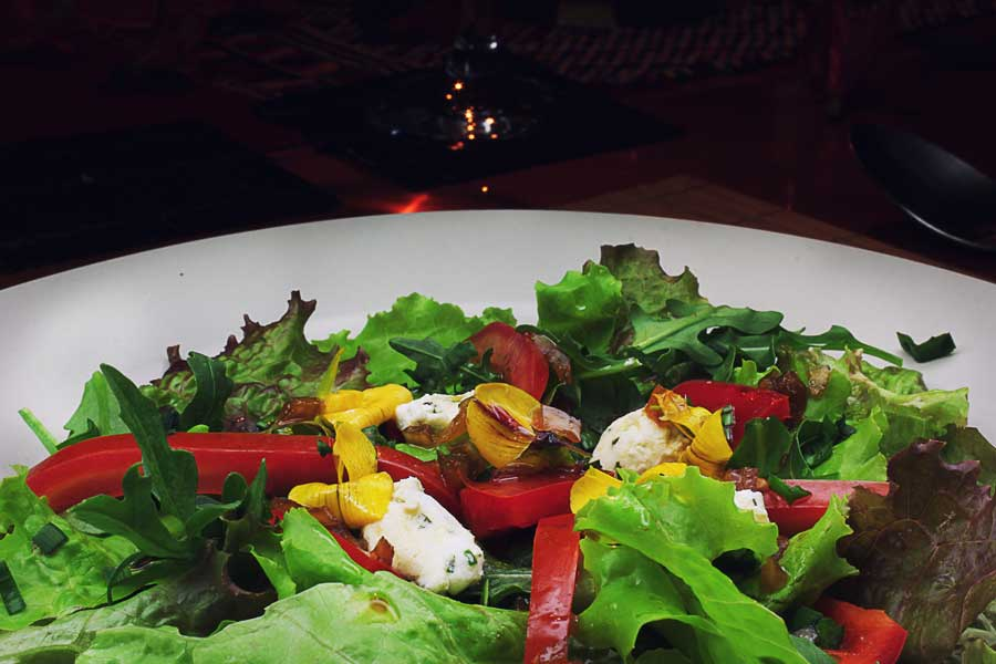 Laguna Lodge dining-at-zotz-salad